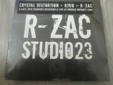 "SPIRAL TRIBE  / R-ZAC ""STUDIO 23""  CRYSTAL DISTORTION + 69dB / EXPRCD20 /SEALED"