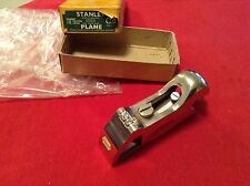 Vintage Stanley No.90 Bull Nose Plane Complete New & In Mint Condition, Boxed