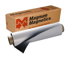Magnetic Roll Magnet Sheets Magnum - 24 inches by 3 feet w/white fin.