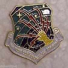 Hat Lapel Push Tie Tac Pin USAF Communications Command