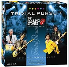 Rolling Stones Trivia Pursuit Board Game Rock 'n Roll New Collector's Edition