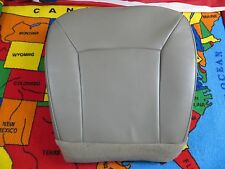 2003-08 FORd E- 350  Econoline Base Driver Bottom Vinyl Seat cover (GRAY)