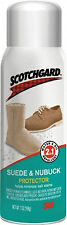 NEW SCOTCHGARD LEATHER PROTECTOR 4 SUEDE & NUBUCK 7 OZ SPRAY WATER OIL REPELLENT