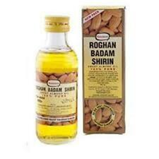 2 x Hamdard Rogan Badam Shirin 100ml Sweet Almond Oil 100% Pure free shipping
