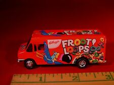 JL RARE FROOT LOOPS STEP VAN DELIVERY ABOUT HO SCALE LIMITED RUBBER TIRES