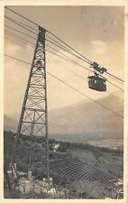 B92795 merano meran italy real photo railway train