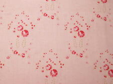 CLEARANCE! Cottage Shabby Chic Lecien Durham Quilt Anew Pink Cotton Fabric BTY
