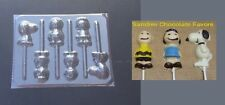 PEANUTS Charlie Brown Snoppy Lucy Lollipop Chocolate Candy Soap Mold