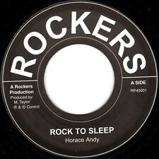 """Horace Andy - Rock To Sleep 7"""" lp with Dub - Nice UK press - NEW COPY ROCKERS"""