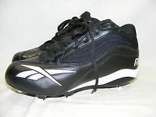 Reebok Cleats Black Men's Sports Football Athletic RB603KTS Shoes Size 8