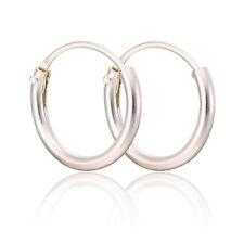 Unisex Men Real 925 Sterling Silver Mini Huggie Hoop Earrings Fashion Jewelry