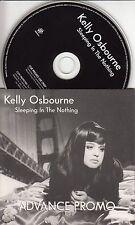 KELLY OSBOURNE Sleeping In The Nothing 2005 UK 10-track promo CD