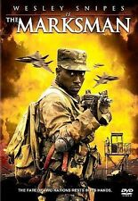 The Marksman (DVD, 2005, WS) Wesley Snipes    NEW
