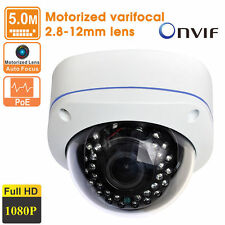 5MP H.265 HD 1080P Outdoor Motorized Vandal-proof 2.8-12mm lens POE IP Camera