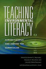 Scholarship of Teaching and Learning Ser.: Teaching Environmental Literacy :...