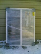 BRAND NEW:  Big White VINYL House SLIDER WINDOW 46x59