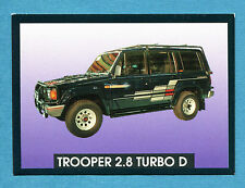 AUTO - Stickline - Figurina-Sticker n. 178 - ISUZU TROOPER 2.8 TURBO D -New