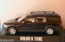 VOLVO V70 XC AWD CROSS COUNTRY JAVA BROWN MINICHAMPS 1/43 BREAK SW