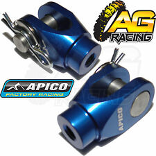 Apico Blue Rear Brake Clevis For Yamaha YZ 125 2008 08 Motocross Enduro New