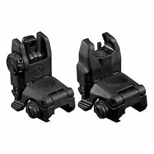Magpul Gen II 2 MBUS Rear Flip Up Sights and Front Back Up Sight Battle Pair