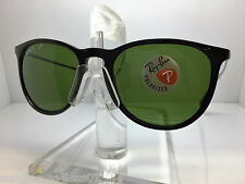 AUTHENTIC RAYBAN SUNGLASSES ERIKA RB 4171 601/2P RB4171 BLACK/GREEN POLARIZED