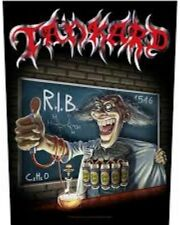 TANKARD r.i.b - rest in beer 2014 GIANT BACK PATCH - 36 x 29 cms