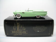 BROOKLIN MODELS BRK13A 1957 FORD THUNDERBIRD CONVERTIBLE  1/43 SCALE