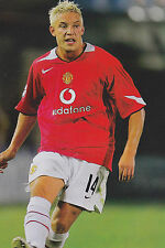 Football Photo ALAN SMITH Man Utd 2005-06