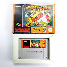 Mickey Mania (PAL/Europe) Super Nintendo SNES Cart Box No Manual