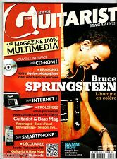 GUITARIST BASS n°253 - BRUCE SPRINGSTEEN/BB KING + CD + PARTITIONS