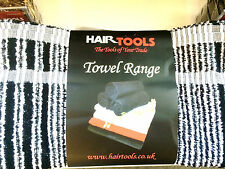 1 x Hairdressing Colouring Towel Black White Humbug (Black Jack) by Hair Tools
