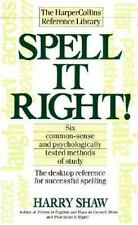 Spell It Right! The Desktop Reference for Successful Spelling