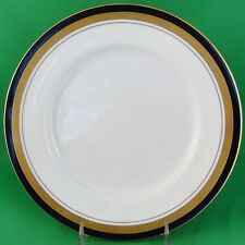 "COBALT ROYALE Aynsley Dinner Plate 10.5"" NEW NEVER USED 24kt gold made England"