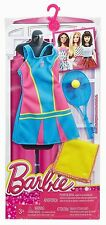 NEW! 2016 BARBIE COMPLETE LOOK FASHION PACK I CAN BE TENNIS PLAYER 4 CURVY DOLL