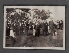 VINTAGE 1919 MANCHESTER CONNECTICUT SALVATION ARMY BAND FLAG DRUM HORN OLD PHOTO