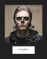 EVAN PETERS #2 Signed Photo Print 10x8 Mounted Photo RePrint - FREE DELIVERY