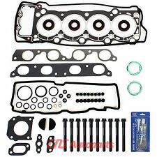 Toyota Previa 2.4L & Supercharged Head Gasket Set w/ Bolts Silicone 2TZFE 2TZFZE