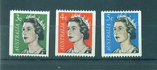 QUEEN ELIZABETH II - AUSTRALIA 1966 Common Stamps Coil