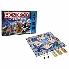 New Monopoly Here & Now World Edition Board Game the World's Favourite Cities