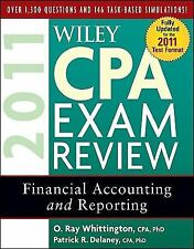 Wiley CPA Exam Review 2011, Financial Accounting and Reporting (Wiley -ExLibrary