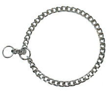 Dog Collar Choke Chain 24 Inches Large