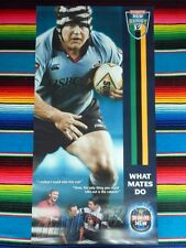 NSW WARATAHS Super Rugby Posters MATT DUNNING PHIL WAUGH - Jersey Not Signed