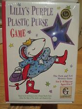 Lilly's Purple Plastic Purse Game Oppenheimer Award Best Toy NEW Gamewright