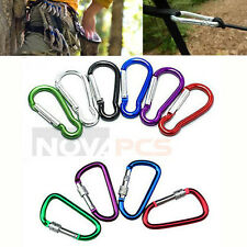 "Lot 36 Climbing Carabiner Spring Belt Clip Key Chain/ 2""/Aluminum/Fast Shipping"
