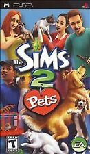 The Sims 2: Pets  - PlayStation Portable PSP - Complete in Box - Used