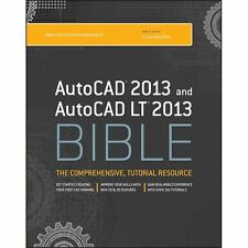 AutoCAD 2013 and AutoCAD LT 2013 Bible, Finkelstein, Ellen, Good Book