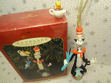 Dr Seuss Cat In The Hat Hallmark Keepsake Christmas Ornament 1999