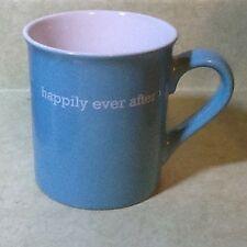 Large 16 Oz Coffee Mug Happily Ever After Heart Inside Bottom Wedding Valentine