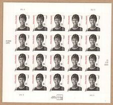 {BJ Stamps} 3422  Wilma Rudolph. Olympics-Runner.  23¢ Sheet of 20.  Issued 2004