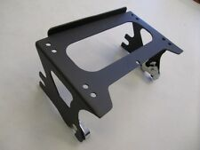 USED Black Detachable Two-Up Tour Pack Mounting Rack for 97-08 Harley Davidson